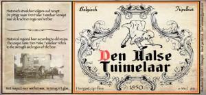 Etiket Den Tuimelaar CS5 13-2-2015 Belgische vlag
